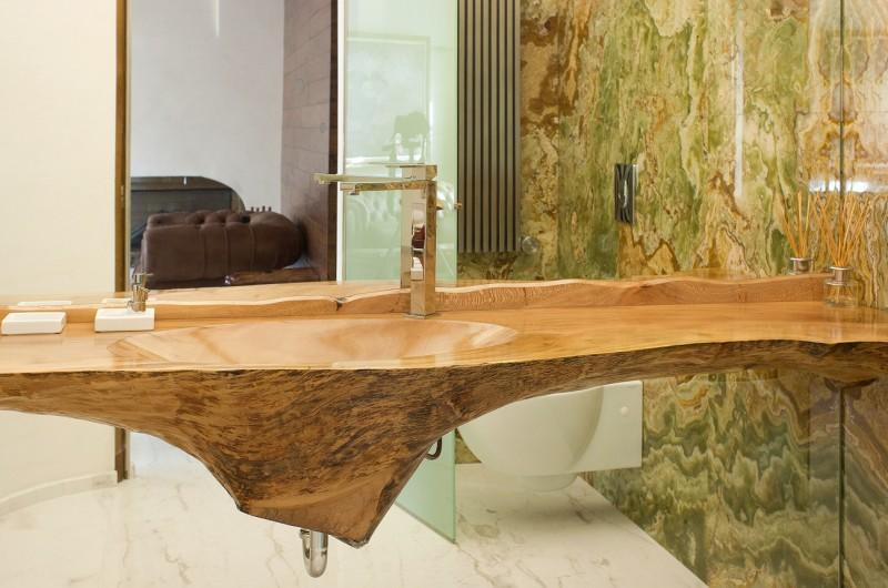 Vasques en bois. Sycomore №1