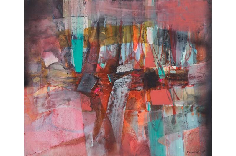 Allegro Dolorosso - Абстрактна картина от Петър Бажлеков