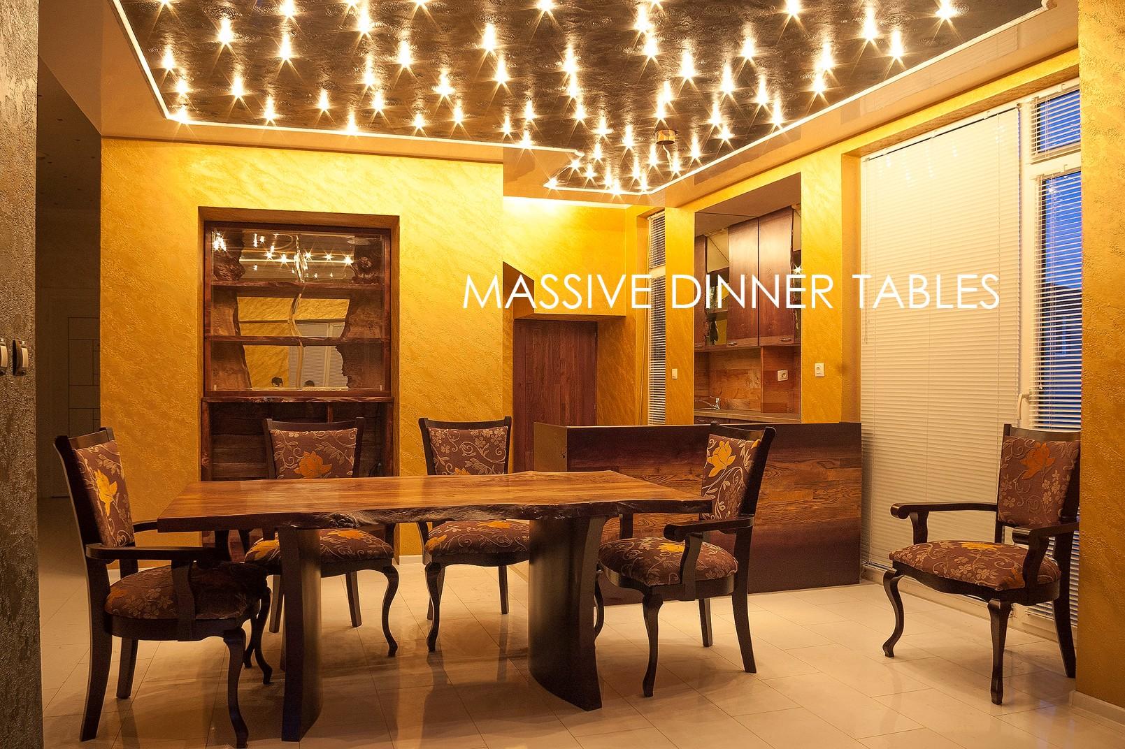Massive dinner tables